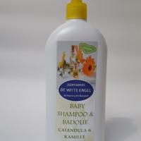 Babyshampoo & badolie Calendula & Kamille 500ML met pompje