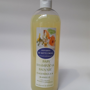 Babyshampoo & badolie Calendula & Kamille 1L