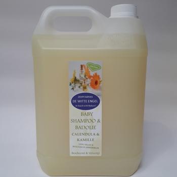Babyshampoo & badolie Calendula & Kamille 5L