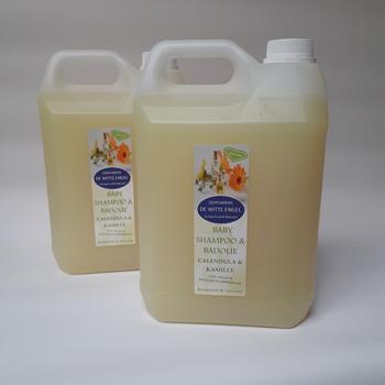 Babyshampoo & badolie Calendula & Kamille 10L