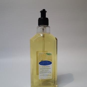 Zachte handzeep met een frisse, hypoallergene Citroengeur 500ML met pompje
