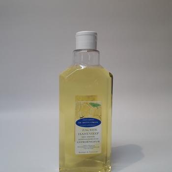 Zachte handzeep met een frisse, hypoallergene citroengeur 500ML met klikdopje