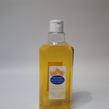 Zachte handzeep roos - mandarijn 500ml met klikdopje