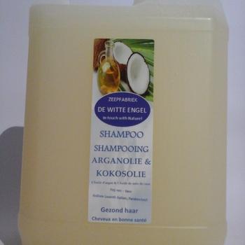 Shampoo met kokosolie en arganolie en Quinoa 5L