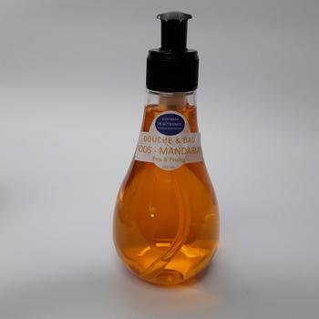DOUCHE & BAD Olie Roos-Mandarijn 250ML met pompje