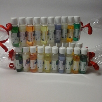 Assortiment 10 x 50ml Toffe set mini flesjes Douche & Bad