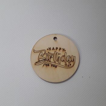 """LABEL """" HAPPY BIRTHDAY"""""""