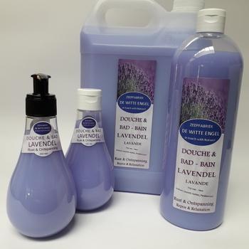 Douche & Badolie met Lavendelolie