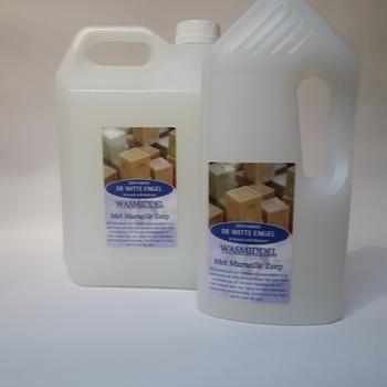 Vloeibaar wasmiddel met Marseille zeep
